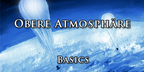 Obere Atmosphäre. Basis.
