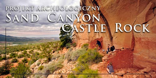 Projekt archeologiczny Sand Canyon Castle Rock