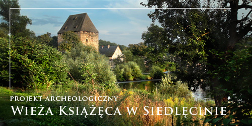 Projekt archeologiczny Wieza Ksiazeca w Siedlecinie