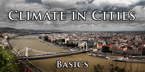 Climate in Cities. Basics.