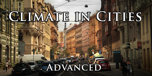 Climate in Cities. Advanced.