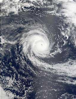 cyklon tropikalny Dina
