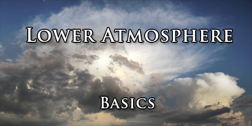 Lower atmpsphere. Basics.