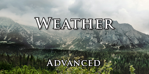 Weather. Advanced.