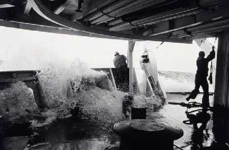 work at sea under rough conditions.