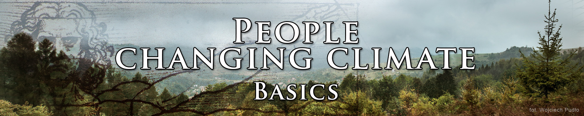 Topic: People changing climate. Basics.