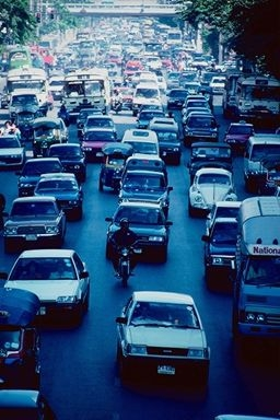 increasing emissions from vehicles