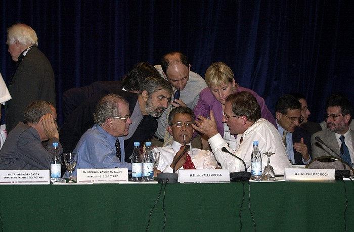 politically negotiations