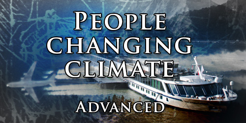 People changing climate. Advanced.